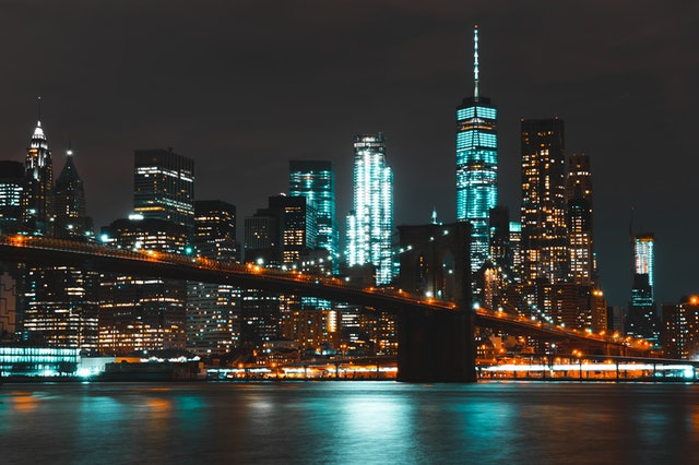 fotografia urbana nocturna