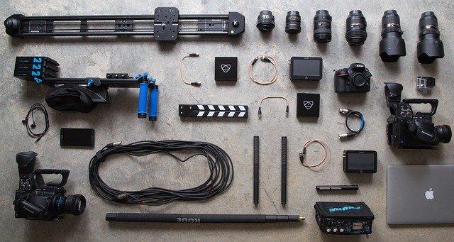 herramientas de fotografia