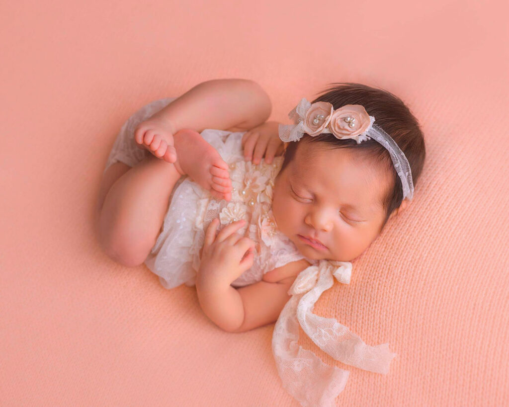 Fotografía Newborn por Mónica Olvera