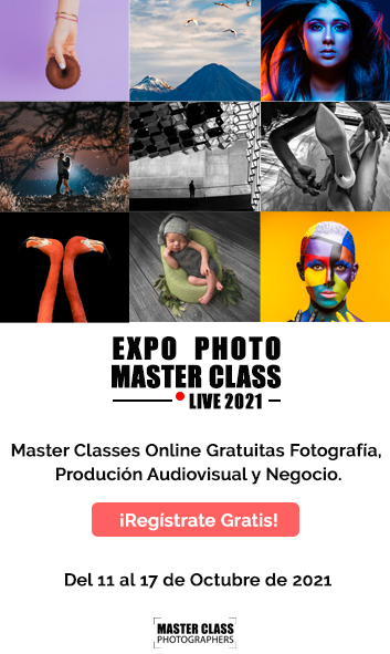 Banner Expo Photo Master Class Live 2021