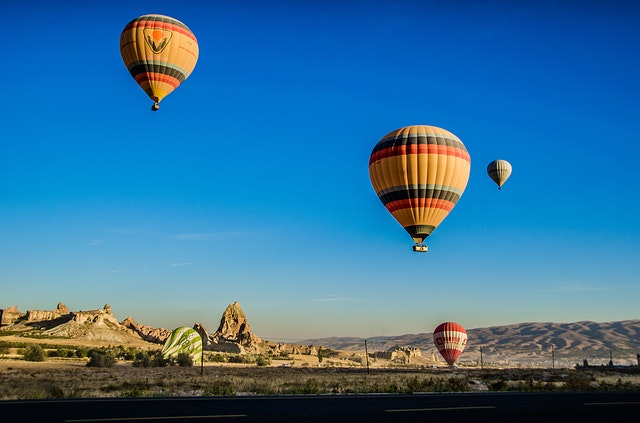 Foto desde globo aerostático